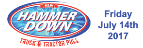 Hammer Down Tractor Pull 2016