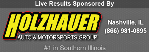 Live Results Sponsored by Holzhauer Auto & Motorsports Group